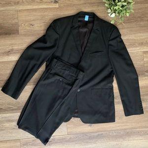 Zara man black Men's suit